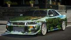 Nissan Skyline R34 GT-R PSI PJ10 для GTA 4