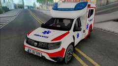 Dacia Duster 2020 Ambulance