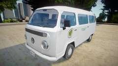 Volkswagen Kombi 2012 - SA Style v2 для GTA San Andreas