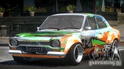 Ford Escort Urban Racing PJ3 для GTA 4