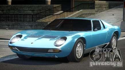 Lamborghini Miura 70S для GTA 4