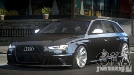 Audi RS4 GS Tuned V1.1 для GTA 4