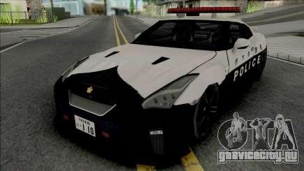 Nissan GT-R R35 2017 Tochigi Prefectural Police для GTA San Andreas