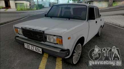 ВАЗ 2107 Full Real для GTA San Andreas