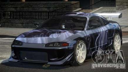 Mitsubishi Eclipse 90S PJ9 для GTA 4