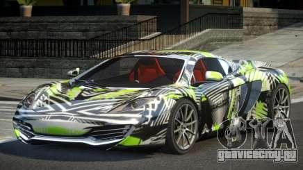 McLaren MP4-12C PSI-R PJ10 для GTA 4
