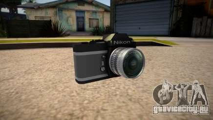 The camera is Nikon для GTA San Andreas