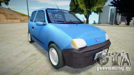 Fiat Seicento PL Plates для GTA San Andreas