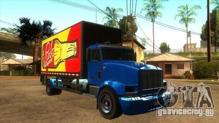 GTA V MTL Flatbed (VehFuncs Style) для GTA San Andreas