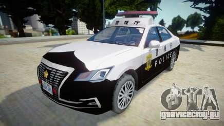 2016 Toyota Crown Patrol Car (210系) для GTA San Andreas