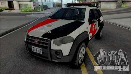 Fiat Palio Weekend Adventure 2013 PMESP для GTA San Andreas