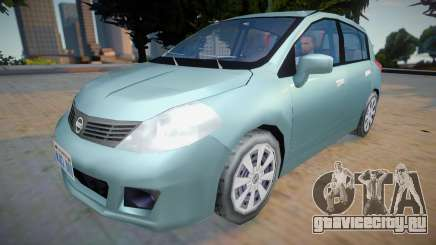 Nissan Tiida 2012 - Improved v2 для GTA San Andreas