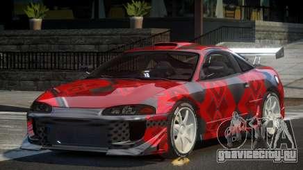 Mitsubishi Eclipse 90S PJ7 для GTA 4