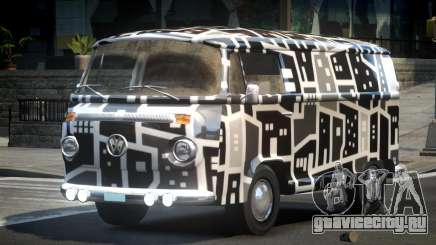 Volkswagen Transporter T2 70S L1 для GTA 4