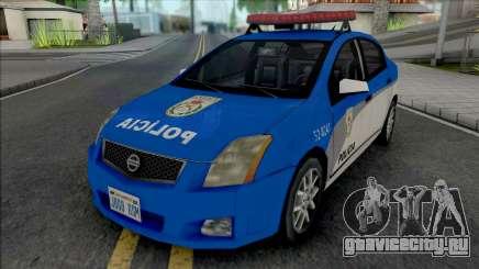Nissan Sentra 2009 PMERJ для GTA San Andreas