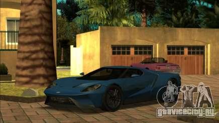 Ford GT 18 для GTA San Andreas