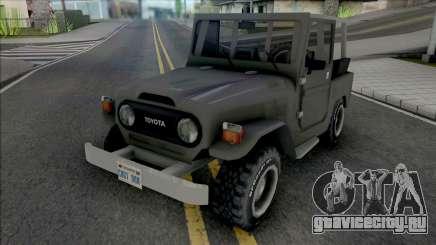 Toyota Bandeirante (Jeep) для GTA San Andreas