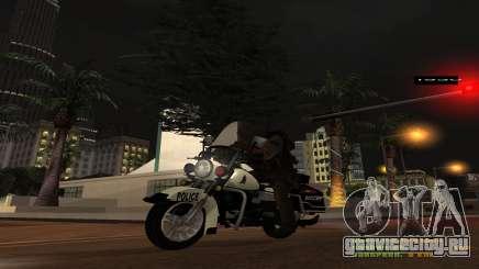 MGCRP Police Bike для GTA San Andreas