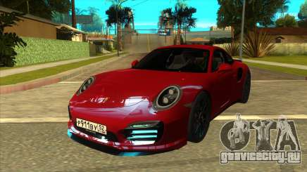 Porsche 911 Turbo S Black для GTA San Andreas