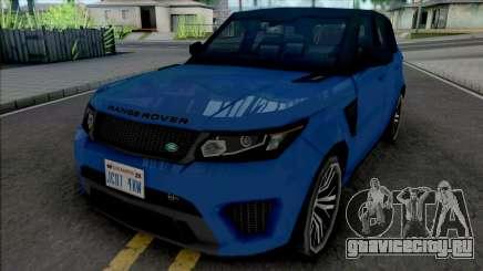 Land Rover Range Rover Sport SVR 2017 Improved для GTA San Andreas