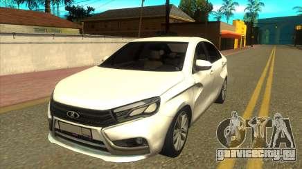 Lada Vesta RP для GTA San Andreas
