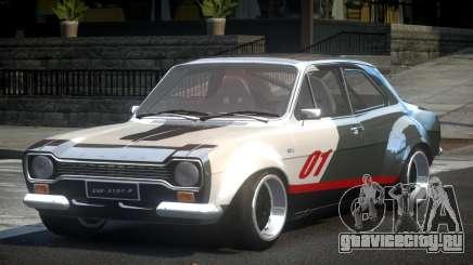 Ford Escort Urban Racing PJ2 для GTA 4