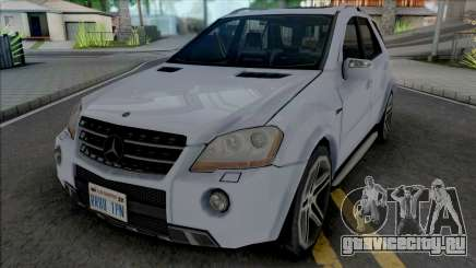 Mercedes-Benz ML 63 AMG 2009 Improved для GTA San Andreas