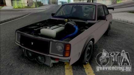 GTA V Vulcar Nebula Turbo [VehFuncs] для GTA San Andreas