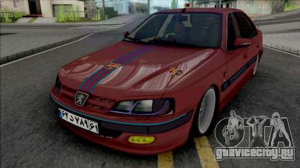 Peugeot Pars Sport FC Barcelona для GTA San Andreas
