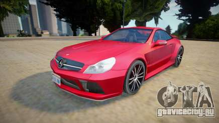 Mercedes-benz Sl 65 AMG - Improved для GTA San Andreas