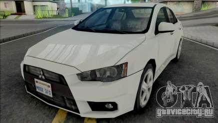Mitsubishi Lancer 2.0 GT 2014 Improved для GTA San Andreas