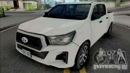 Toyota Hilux 2019 Improved для GTA San Andreas