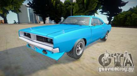 Dodge Charger RT 1970 - Improved для GTA San Andreas