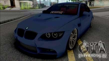 BMW M3 E92 EnesGarage для GTA San Andreas