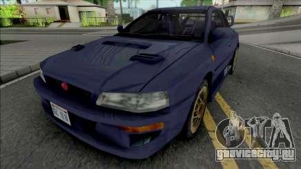 Subaru Impreza 22B Blue для GTA San Andreas