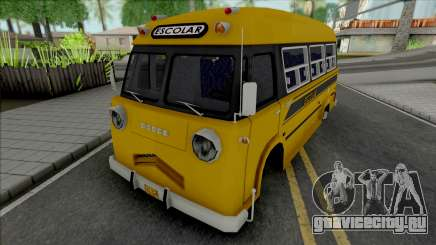 Dodge Bus Escolar для GTA San Andreas