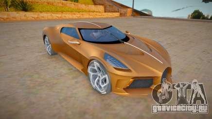 Bugatti La Voiture Noire для GTA San Andreas