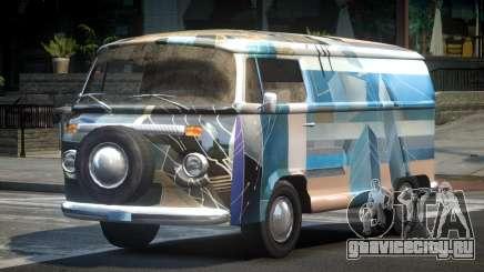 Volkswagen Transporter T2 70S L3 для GTA 4