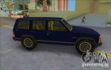 Jeep Cherokee XJ 1984-1991 для GTA Vice City