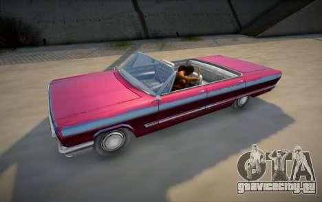 Реальный секс в автомобиле из GTA V для GTA San Andreas