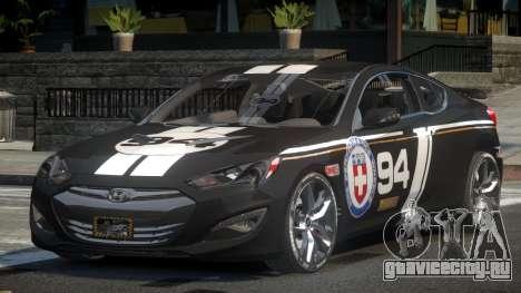 Hyundai Genesis GST Drift L1 для GTA 4