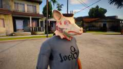 Pig Mask (GTA Online Diamond Heist) для GTA San Andreas