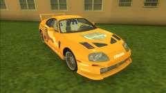 2F2F Toyota Supra для GTA Vice City