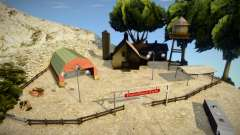 New Farm In Mount Chiliad для GTA San Andreas