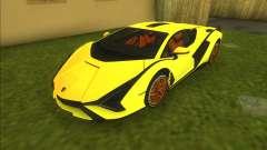 Lamborghini Sian FKP 37 для GTA Vice City