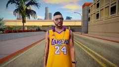 GTA Online Skin Ramdon N24 Male Los Angeles Lake для GTA San Andreas