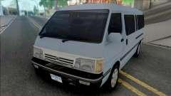 Toyota Old Shape Hiace [IVF] для GTA San Andreas
