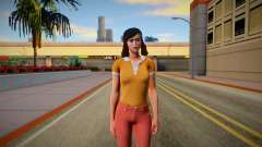Jenny Myers from Friday the 13th: The Game Skin для GTA San Andreas