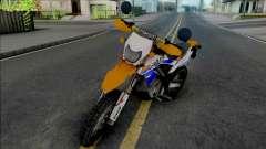 Kawasaki KLX 150 Orange Extreme для GTA San Andreas