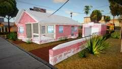 Big Smoke House Remastered Winter Edition v0.5 для GTA San Andreas